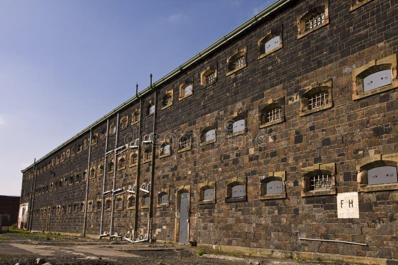 крыло тюрьмы стоковые изображения rf