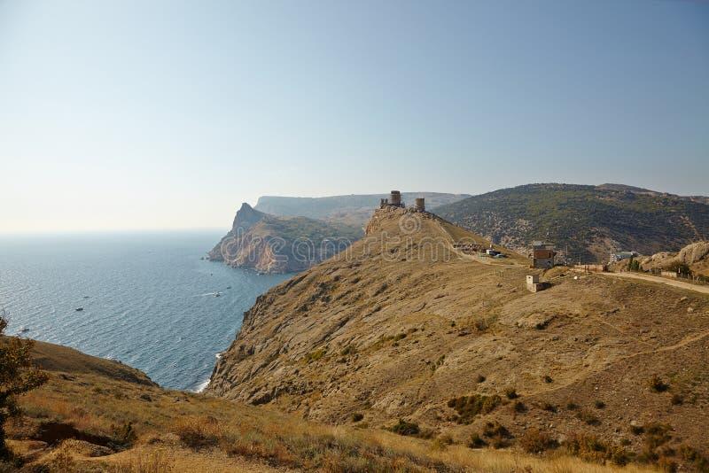 Download крымский луч горы света ландшафта Kara Dag Стоковое Фото - изображение насчитывающей утесисто, coastline: 40580158