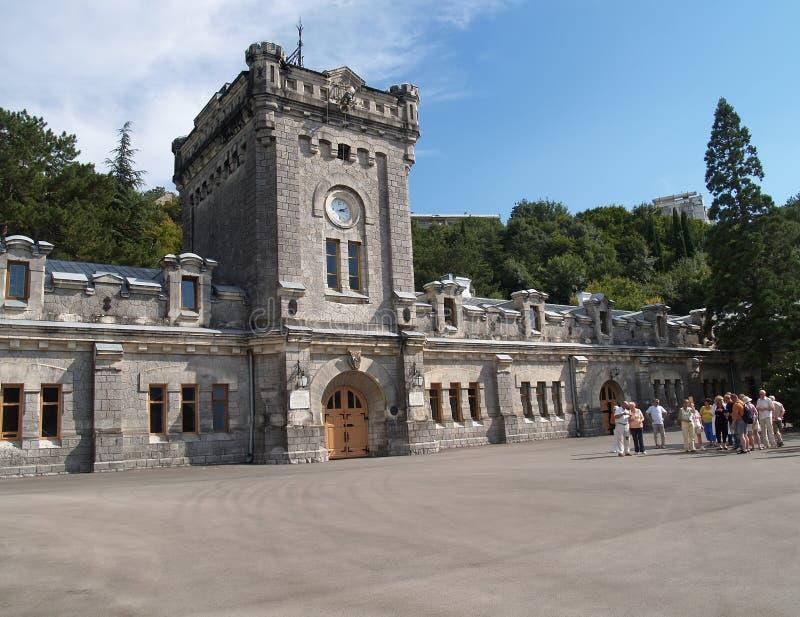 Крым Башня и завод виноделия винного погреба стоковые изображения rf