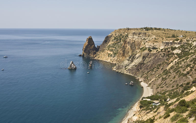 Крым fiolent стоковая фотография rf