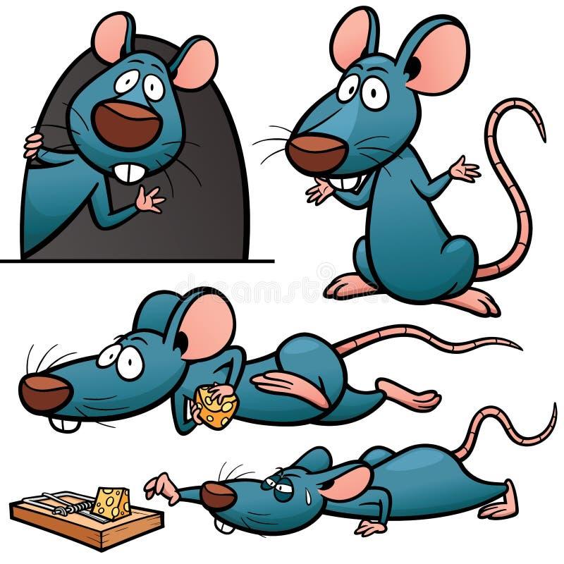 крыса иллюстрация вектора