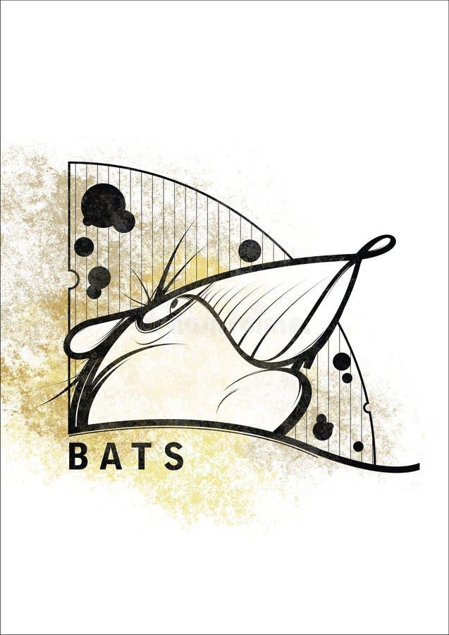 Крыс-летучие мыши стоковые изображения rf