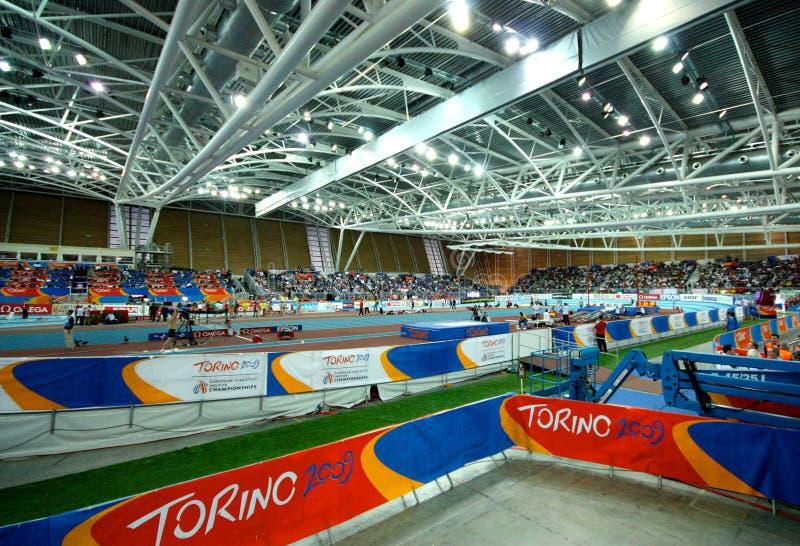 крытое чемпионатов атлетики европейское стоковое фото rf
