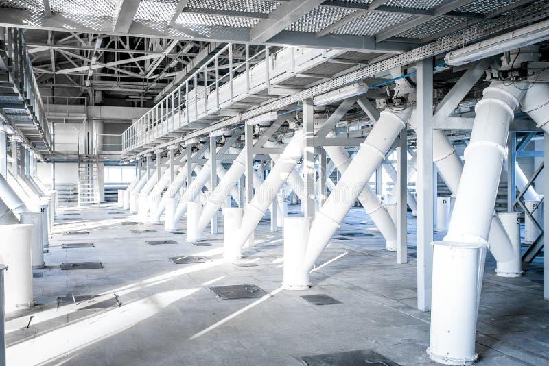 Крытый космос фабрики стоковое фото