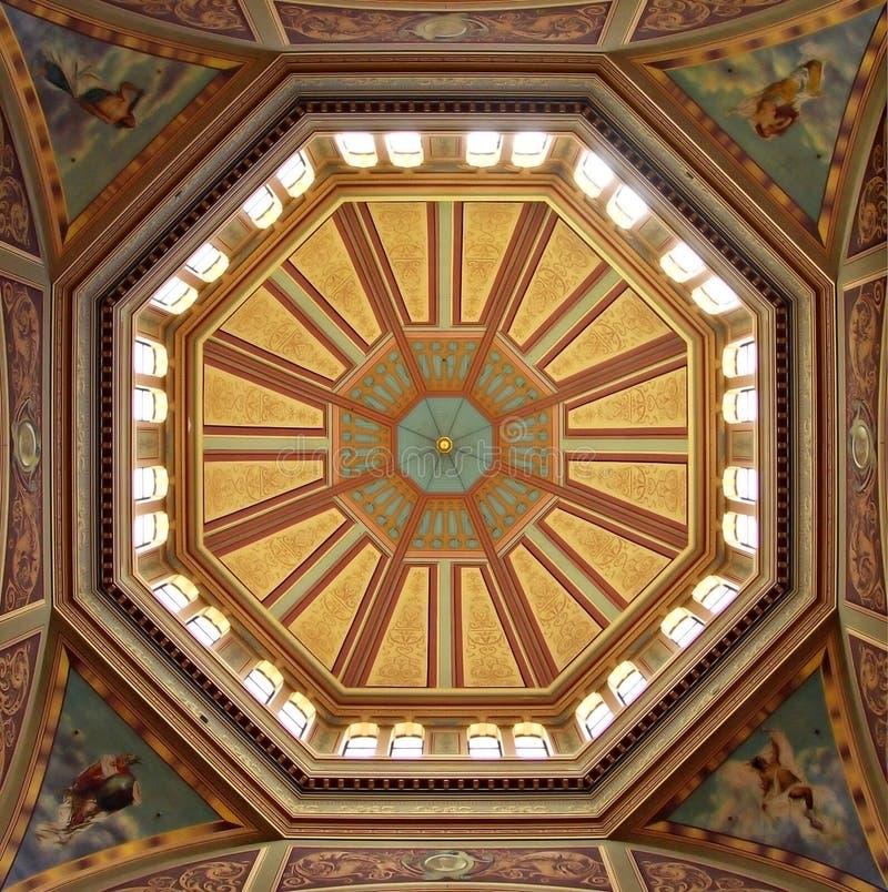 крыша выставки купола королевская стоковые изображения rf