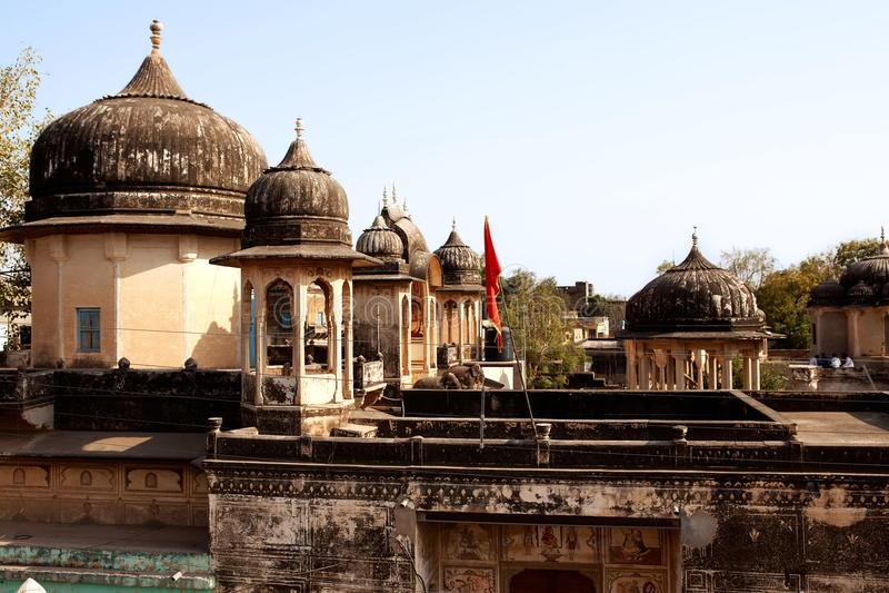 крыша Индии дома стоковые фото