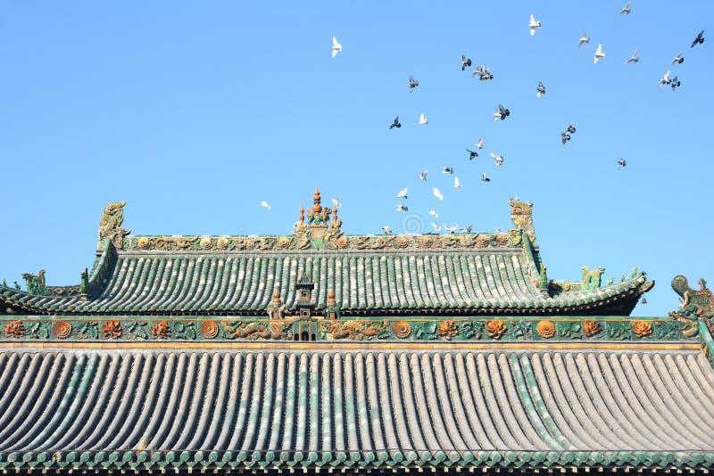 Крыша и вихруны стоковая фотография rf