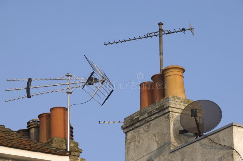 крыша местных помех стоковое фото