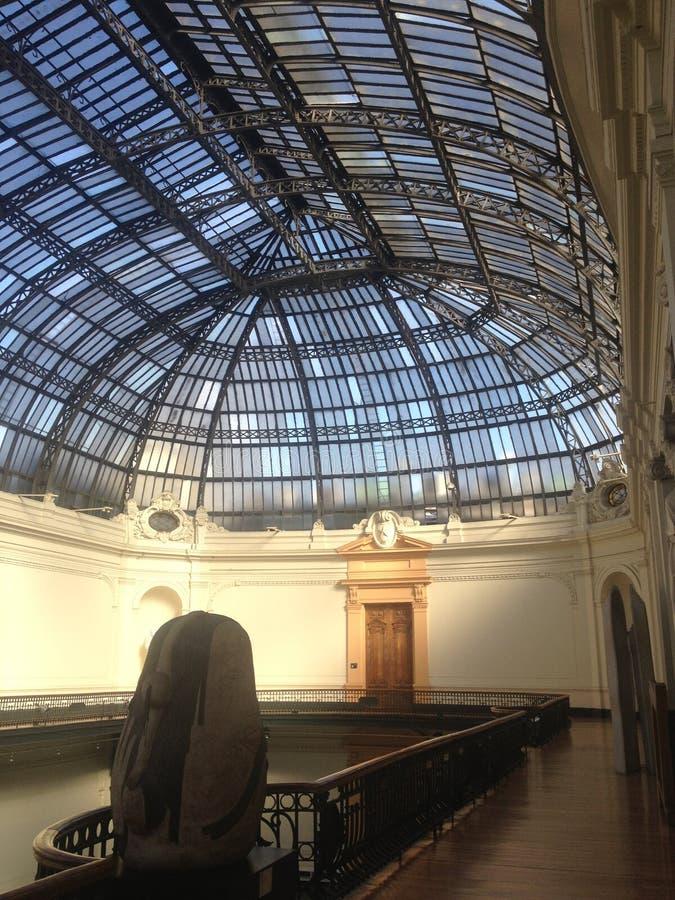 Крыша музея стоковые фотографии rf