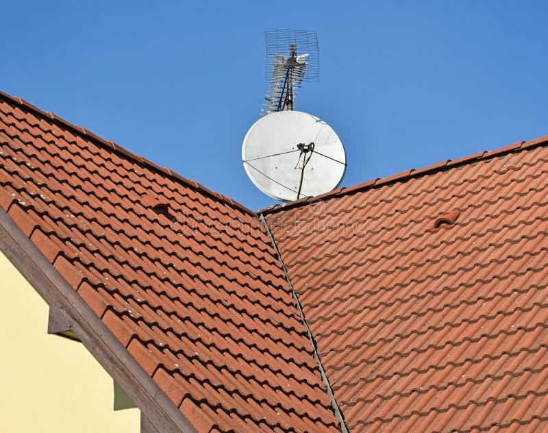 нужно картинки крыш домов с антеннами помогут