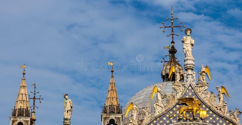 Крыша Сан Marco стоковые фото
