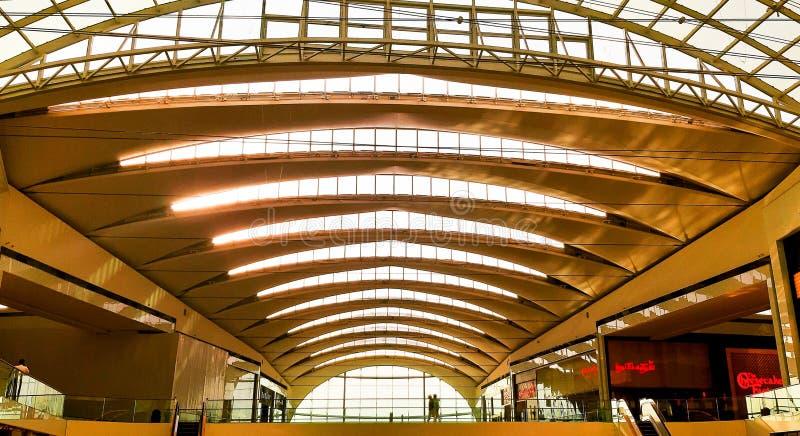 Крыша торгового центра города фестиваля Дубай, Дубай стоковое изображение rf