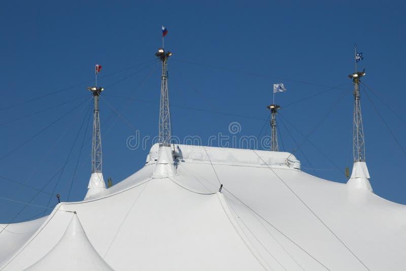 крыша цирка стоковая фотография rf