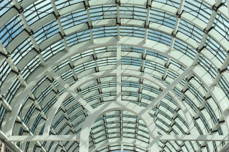 Крыша Galleria, Messe Франкфурта стоковая фотография