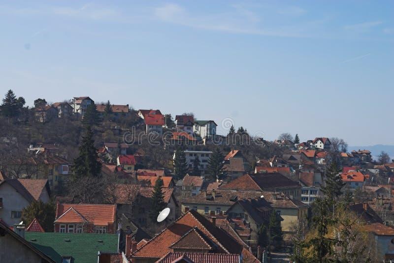 крыши дома стоковая фотография rf