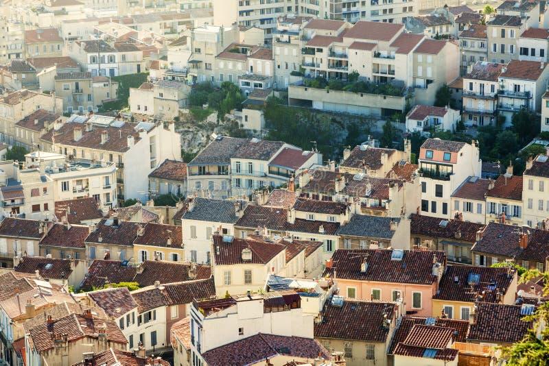 Крыши марселя стоковая фотография