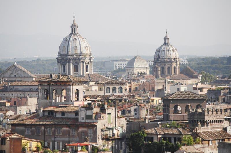 Крыши Рима стоковая фотография rf