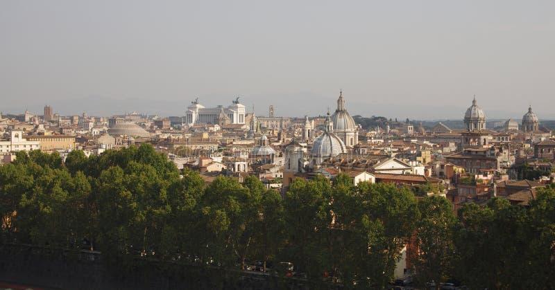 Крыши Рима стоковые изображения rf