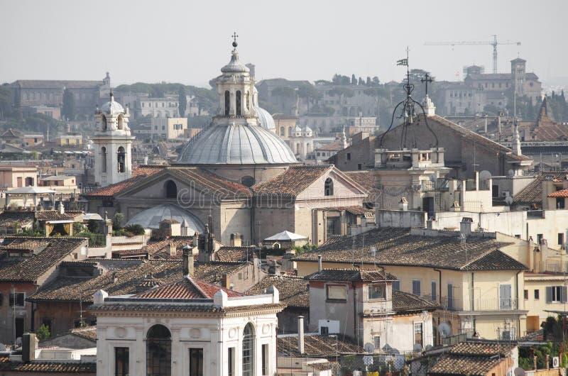 Крыши Рима стоковые фото