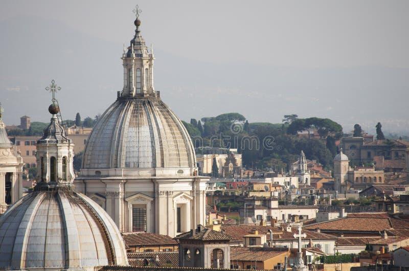 Крыши Рима стоковое изображение rf