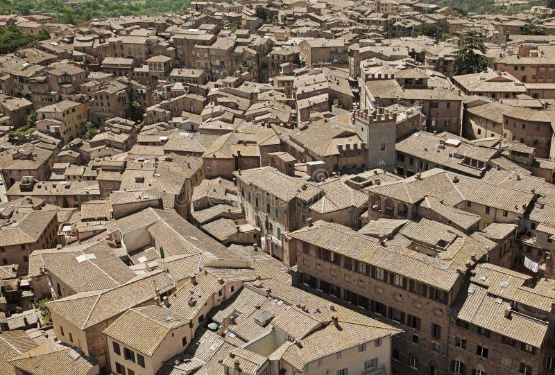Download Крыши Сиены, Италии стоковое фото. изображение насчитывающей назначения - 33738538