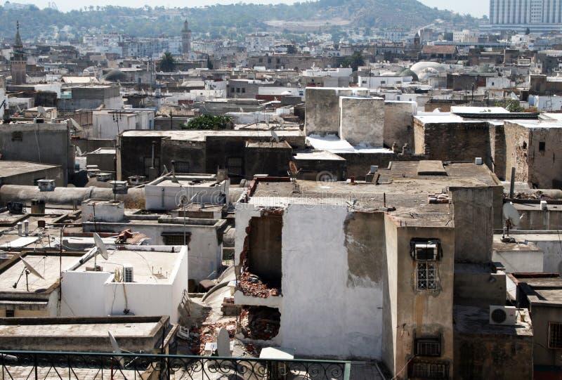 Крыши Туниса стоковое изображение