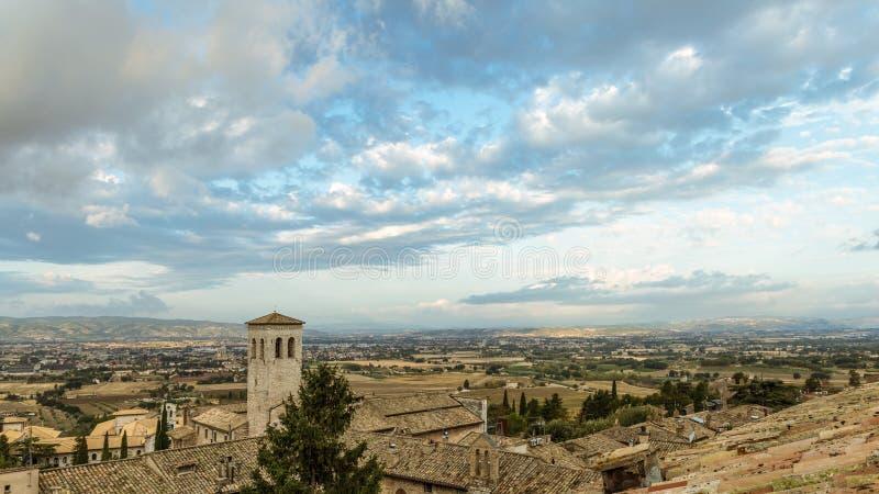 Крыши Assisi стоковые изображения