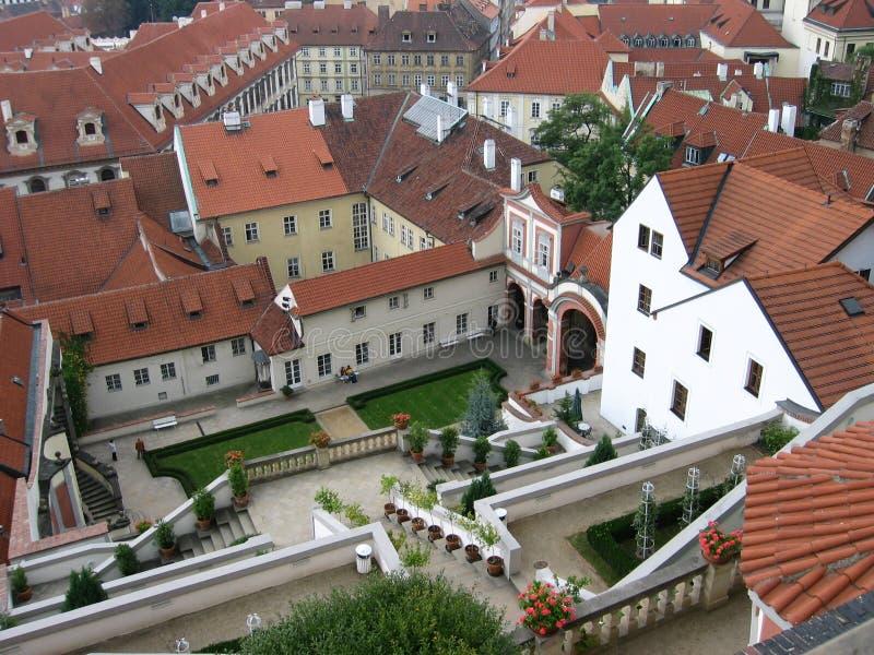 крыши Ii Prague Стоковые Фото