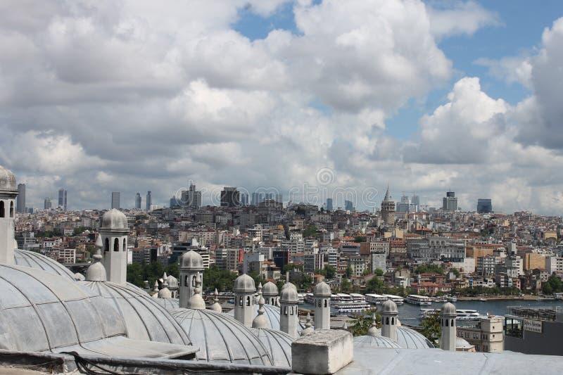 Крыши Istambul стоковые изображения