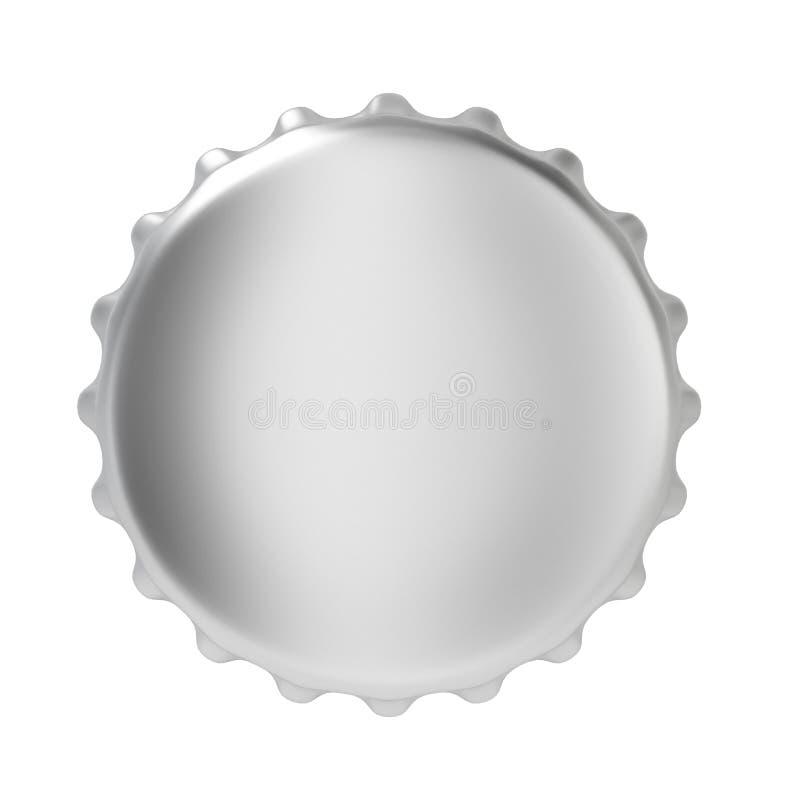 Крышка бутылки иллюстрация вектора