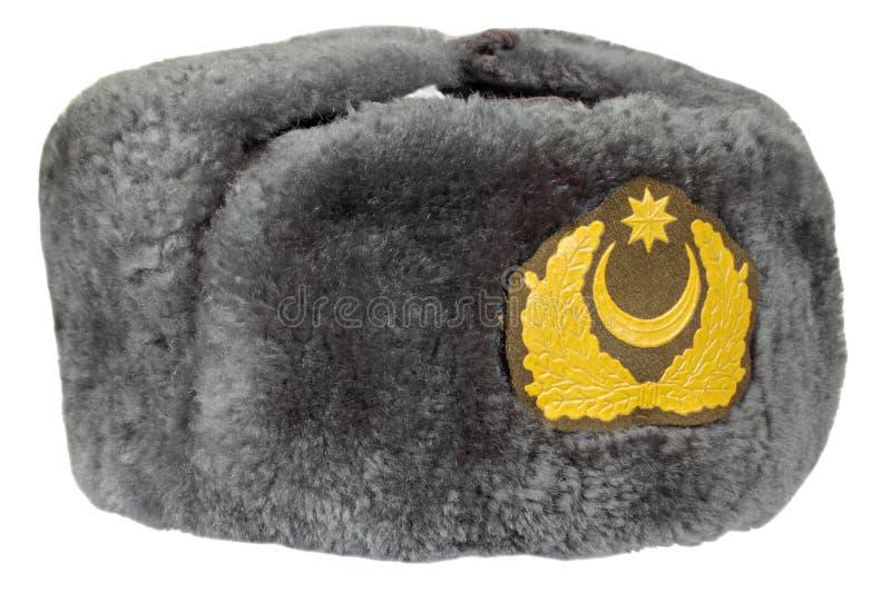 Крышка военной формы шерсти стоковая фотография rf