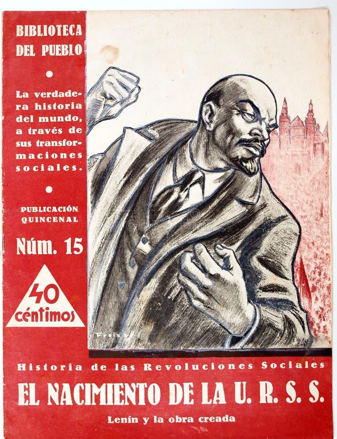 Крышка кассеты рождение u r S S Испанская гражданская война waril бесплатная иллюстрация