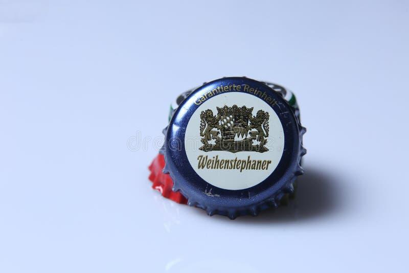 Крышка пива стоковое изображение