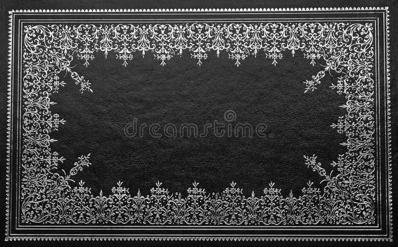 крышка черной книги стоковое изображение rf