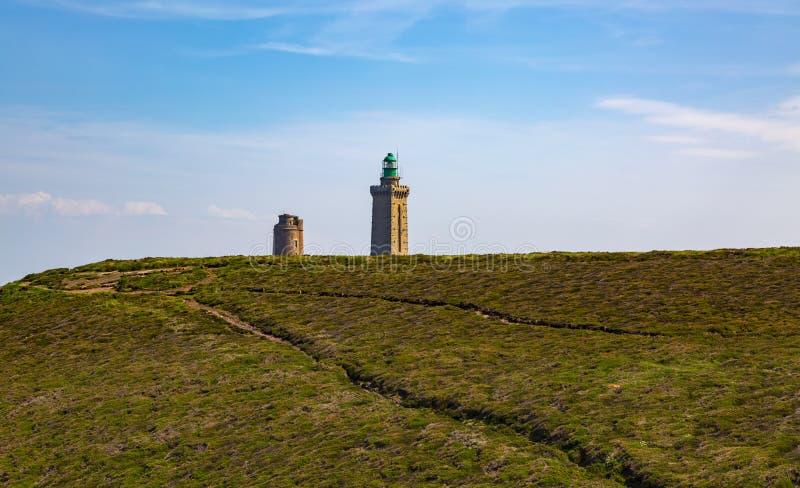 Крышка Frehel - Бретань Франция стоковые фотографии rf