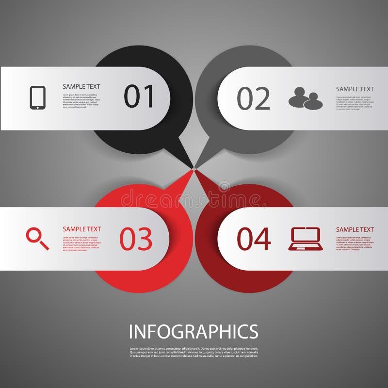 Крышка Infographics бесплатная иллюстрация