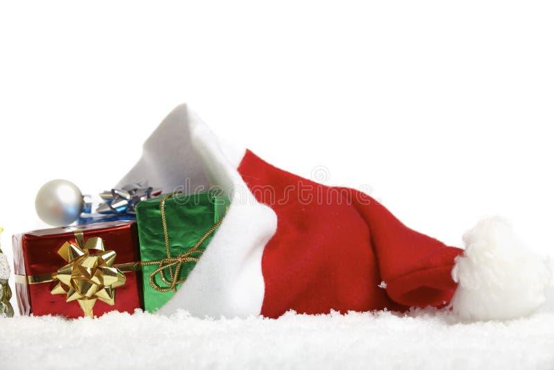 Крышка Santa Claus стоковое изображение