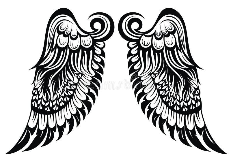 Крыла Анджела бесплатная иллюстрация