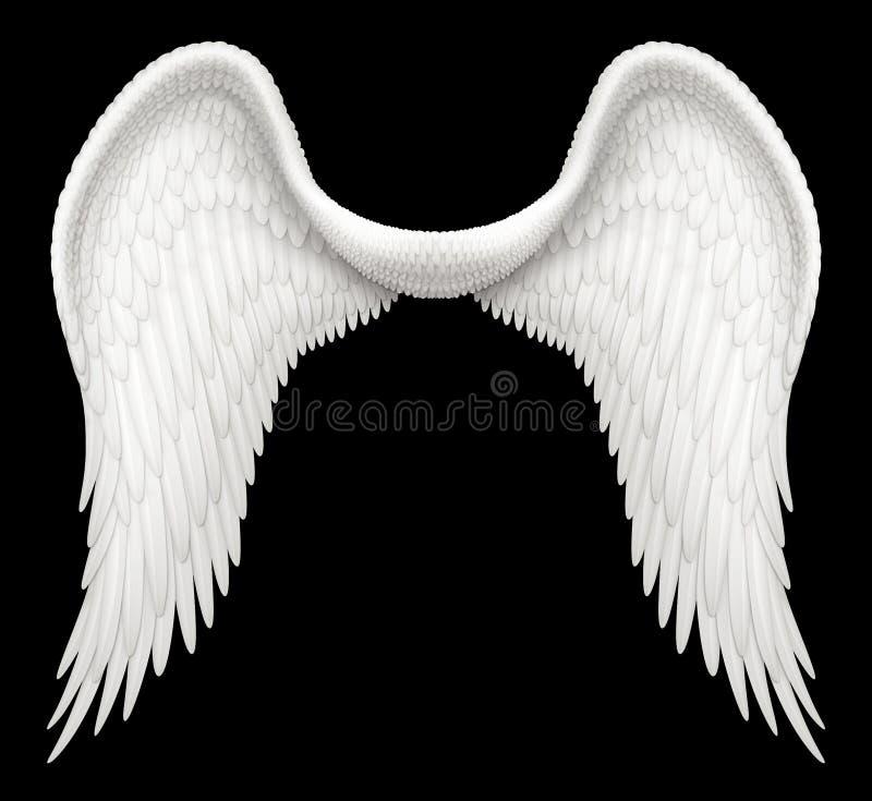Крыла Анджела иллюстрация штока