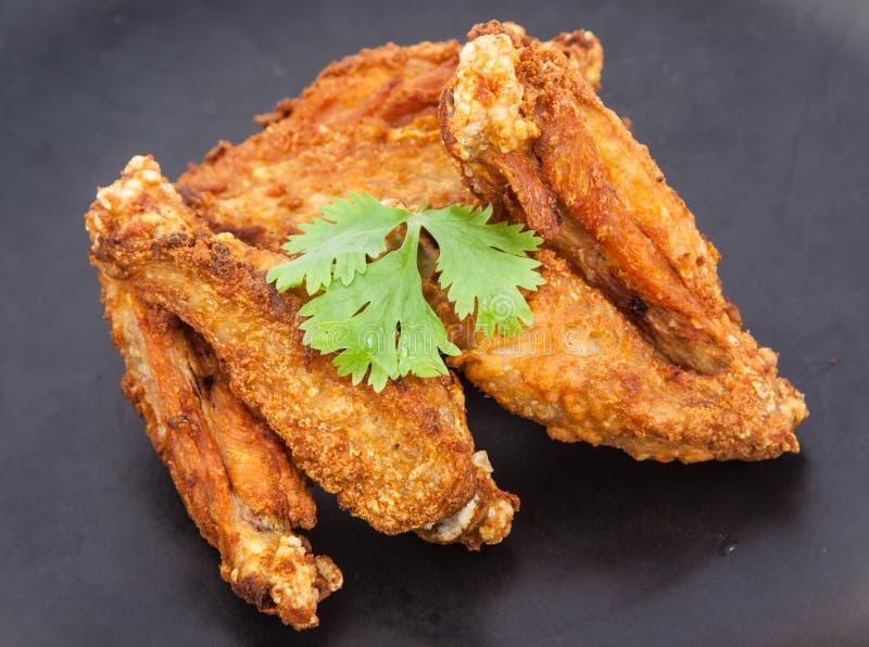 Крыло жареной курицы стоковые фото