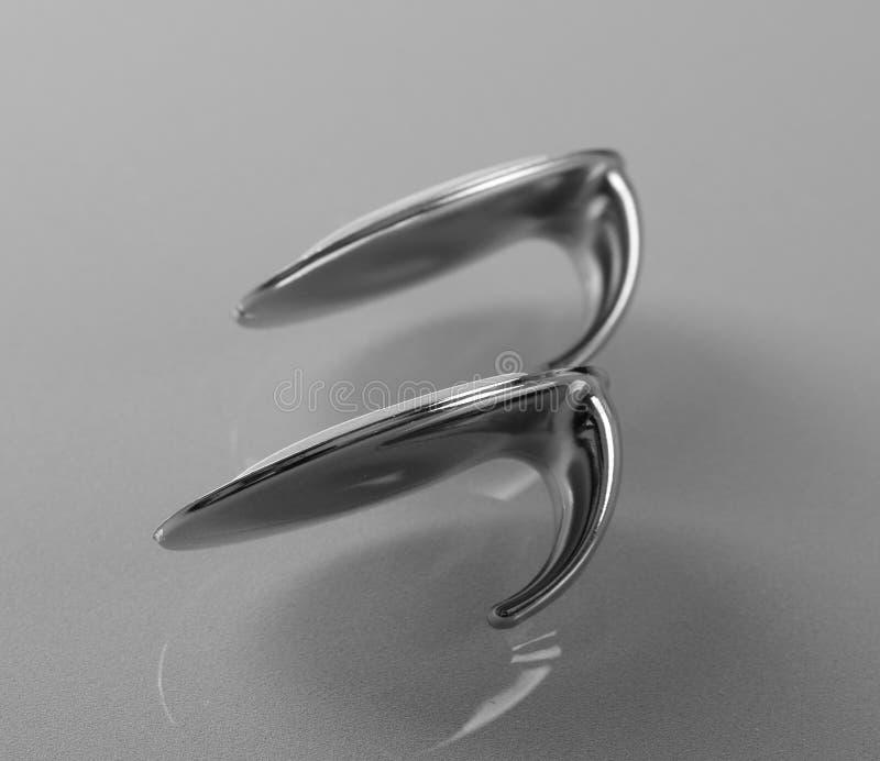 Крюки прилипателя металла стоковое изображение