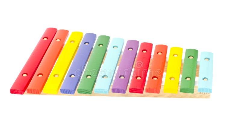 Download Ксилофон изолированный на белой предпосылке Стоковое Фото - изображение насчитывающей multi, дети: 40579274