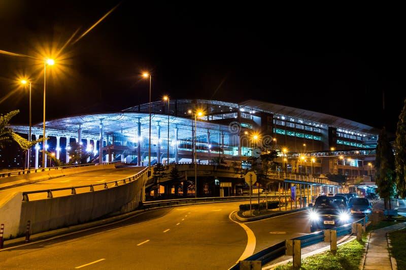 КУАЛА-ЛУМПУР /MALAYSIA - 12-ОЕ ОКТЯБРЯ 2013: Терминальное Bersepadu Sela стоковые изображения rf