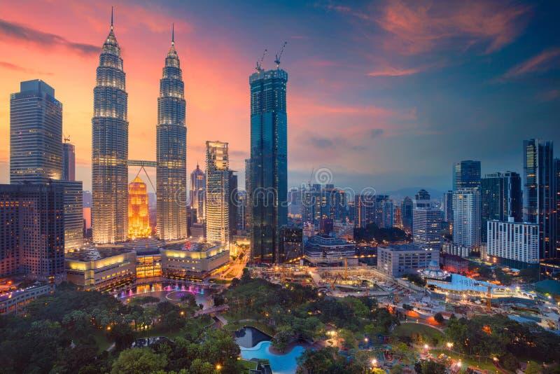 Куала Лумпур стоковое фото rf