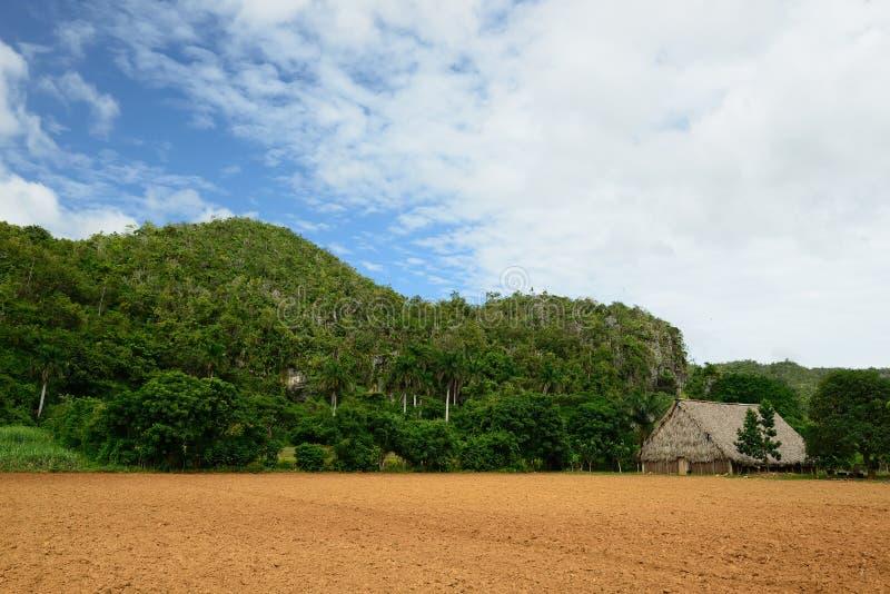 Куба, ландшафт Долины de Vinales стоковое фото rf