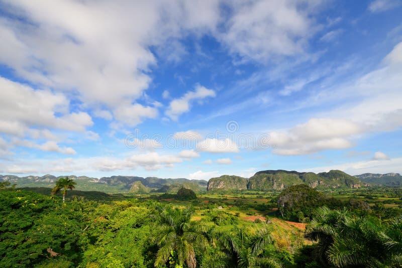 Куба, долина Vinales стоковое изображение rf