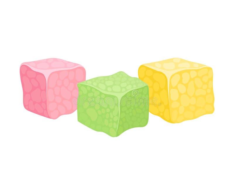 3 куба наслаждения rahat r бесплатная иллюстрация