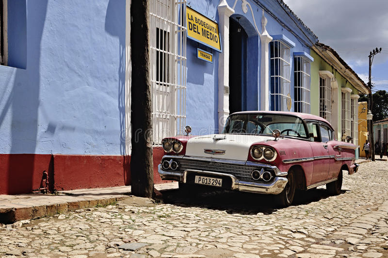 Куба Тринидад стоковое фото rf