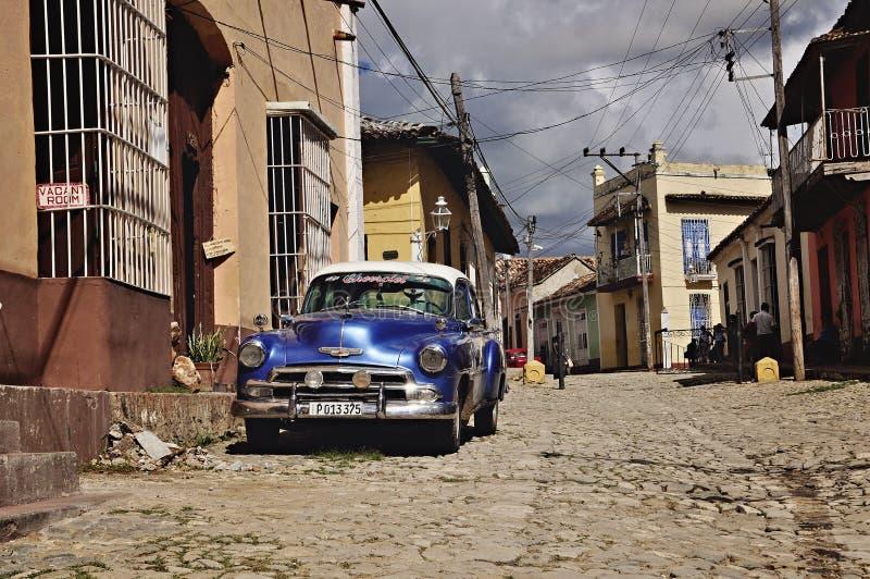 Куба Тринидад стоковые изображения