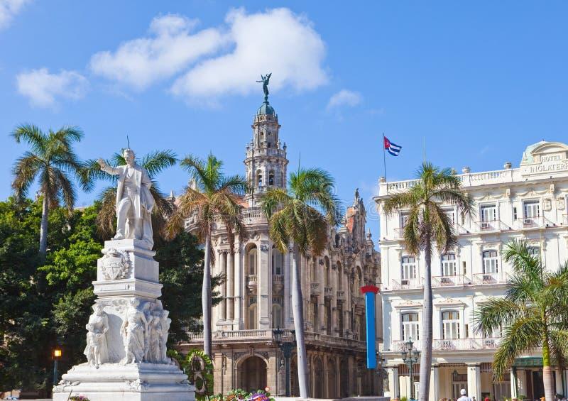 Куба havana Памятник Jose Marti в Central Park стоковое изображение